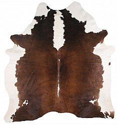 Cowhide - Classic Brown and White 39