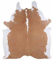 Cowhide - Classic Brown and White 43