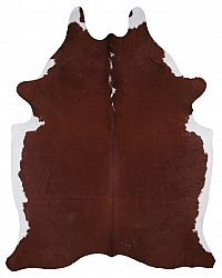 Cowhide - Classic Brown and White 61