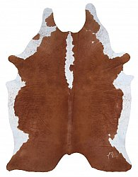 Cowhide - Classic Brown and White 64