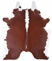 Cowhide - Classic Brown and White 67