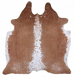 Cowhide - Classic Brown and White 70