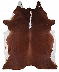 Cowhide - Classic Brown and White 72