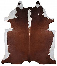 Cowhide - Classic Brown and White 74