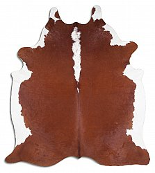 Cowhide - Classic Brown and White 05