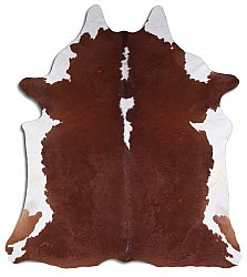Cowhide - Classic Brown and White 09