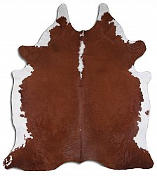 Cowhide - Classic Brown and White 22
