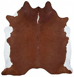 Cowhide - Classic Brown and White 37