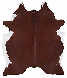 Cowhide - Classic Brown and White 78