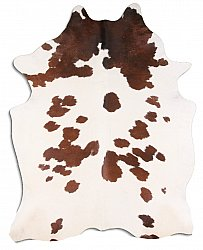 Cowhide - Classic Brown and White 35