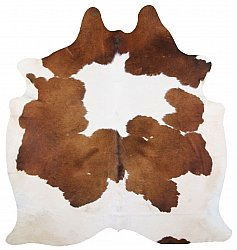 Cowhide - Classic Brown and White 19