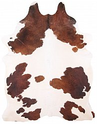 Cowhide - Classic Brown and White 46