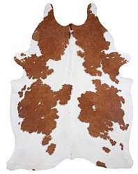 Cowhide - Classic Brown and White 54