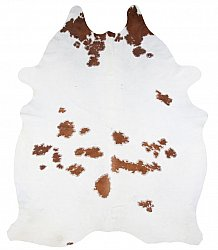 Cowhide - Classic Brown and White 83