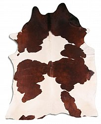 Cowhide - Classic Brown and White 40