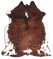 Cowhide - Classic Brown and White 44