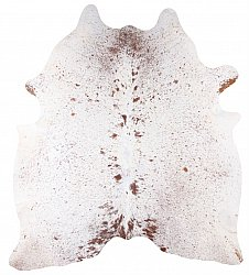 Cowhide - Classic Brown and White 85