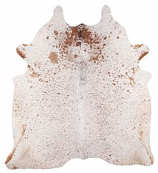 Cowhide - Classic Brown and White 90