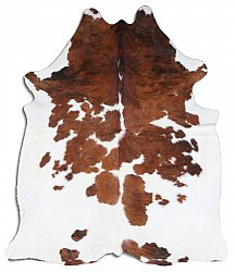Cowhide - Classic Brown and White 47