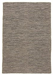 Wool rug - Dhurry (anthracite)