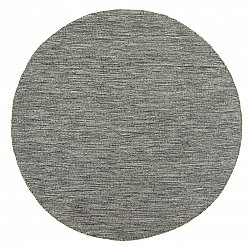 Round rug - Dhurry (anthracite)