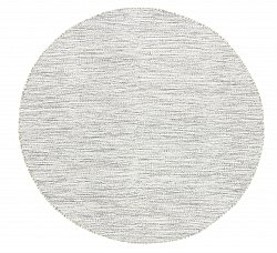 Round rug - Dhurry (grey)