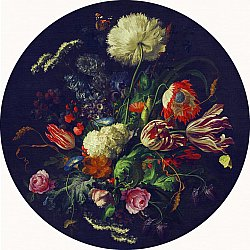 Round rug - Rich Flowers (multi)