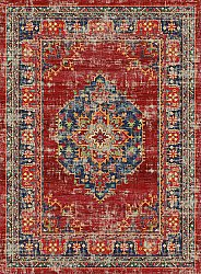 Wilton rug - Soussi (red/multi)
