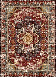Wilton rug - Idri (red/multi)