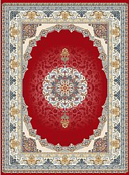 Wilton rug - Lukla (red)