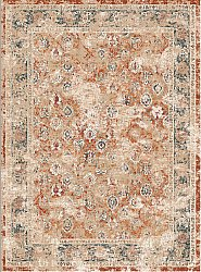 Wilton rug - Douz (red/multi)