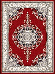 Wilton rug - Lice (red/multi)