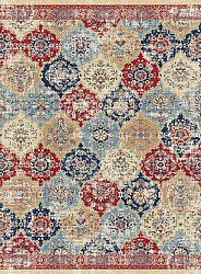 Wilton rug - Bohemia (red/multi)