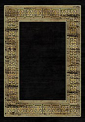 Wilton rug - Tilos (black/gold)