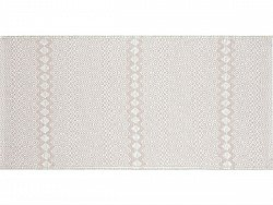 Kitchen rug (plastic) - The Horredmatta Elin (pink)