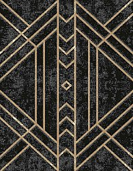 Wool rug - Gate (black)