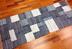 Rag rugs from Stjerna of Sweden - Viken (blue)