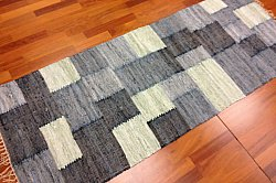 Rag rugs Large - Viken (grey) 160 x 230 cm