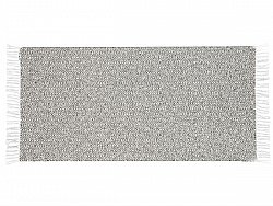 Kitchen rug (plastic/cotton) - The Horredmatta Goose Mix (graphite)