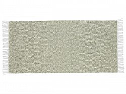 Kitchen rug (plastic/cotton) - The Horredmatta Goose Mix (green)