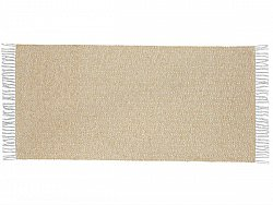 Kitchen rug (plastic/cotton) - The Horredmatta Goose Mix (yellow)