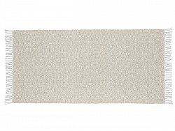 Kitchen rug (plastic/cotton) - The Horredmatta Goose Mix (beige)
