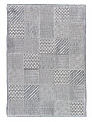 Rug 133 x190 cm (wilton) - Taverna Patch (light grey)