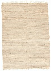 Hemp rug - Natural (beige)