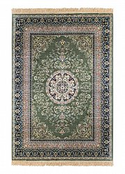 Wilton rug - Casablanca Medallion (green)