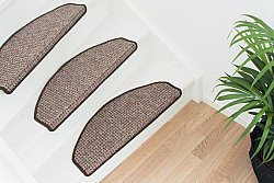 Stair carpet - Copenhagen 28 x 65 cm (light brown)