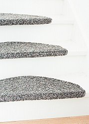Stair carpet - Stockholm 28 x 65 cm (anthracite)