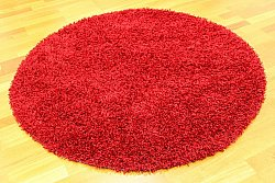 Round rug 120 cm - Fancy (Red)