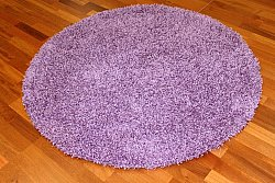 Round rug 120 cm - Fancy (Purple)