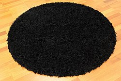 Round rug 120 cm - Fancy (Black)